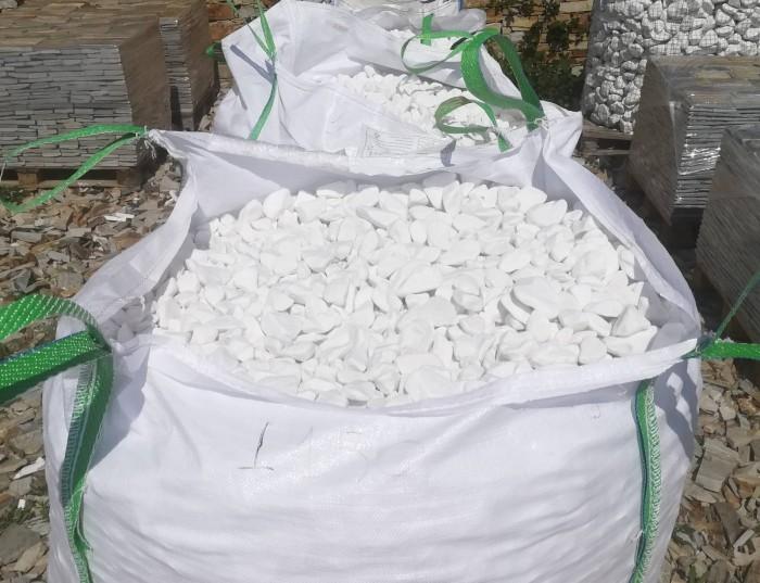 бял декоративен камък тасос